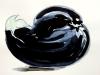 Eine Aubergine, Aquarell auf Werkdruckpapier, A3
